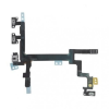 iPhone 5 hangerőállító és be-/kikapcsoló gomb átvezető fólia Powerflex