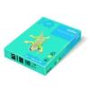IQ Fénymásolópapír színes IQ Color A/4 80 gr intenzív azúrkék AB48 500 ív/csomag