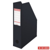 Iratpapucs, PP/karton, 70 mm, összehajtható, ESSELTE, Vivida fekete