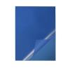Iratsínborító Durable A/4 azonos színű elő-hátlap kék
