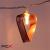 IRIS Szív alakú fém 240-06 meleg fehér led-es elemes fénydekoráció