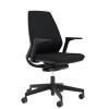 """. Irodai szék, állítható karfával, fekete lábkereszt """"1890 INFINITY"""", fekete"""