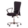 Irodai szék, fekete ülés, háttámla ?fekete, AEX