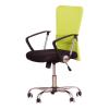 Irodai szék, fekete ülés, háttámla ?zöld, AEX