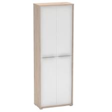 Irodai szekrény polcokkal, san remo/fehér, RIOMA 05 irodabútor