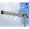 ISKRA P-20F aktív UHF logper antenna 22,5 dBi