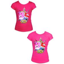 ismeretlen Super Wings: rövid ujjú póló - 92 méret, lányos, két színben gyerek póló