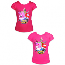 ismeretlen Super Wings: rövid ujjú póló - 98 méret, lányos, két színben