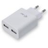 iTec USB Power Charger 2 Port 2.4A fehér
