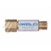 Iweld FB20 visszavágás-gátló patron reduktorra, égőgázhoz G3/8 LH
