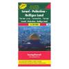 Izrael · Palesztina · Szentföld térkép / freytag & berndt