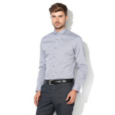 Jack Jones Jack&Jones, Adrian Slim Fit ing, Melange szürke, XL (12139573-GREY-MELANGE-XL)