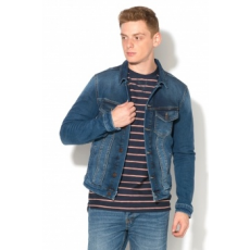 Jack Jones Jack&Jones, Alvin Farmerkabát, Púderkék, S (12120004-BLUE-DENIM-S)