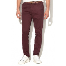 Jack Jones Jack&Jones, Cody regular fit chino nadrág, Bordó, W32-L32 (12139786-WINETASTING-W32-L32)