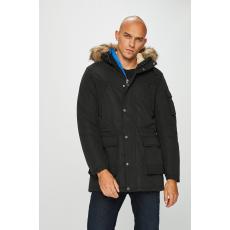 Jack Jones Jack & Jones - Kapucnis kabát - fekete - 1428708-fekete