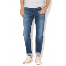 Jack Jones Jack&Jones, Leon slim fit farmernadrág, Királykék, W29-L32 (12129718-BLUE-DENIM-W29-L32)