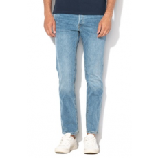 Jack Jones Jack&Jones, Mike comfort fit farmernadrág, Mosott kék, W36-L32 (12141103-BLUE-DENIM-W36-L32)