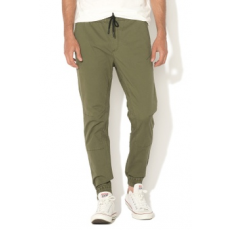 Jack Jones Jack&Jones, Vega Bob Anti Fit nadrág, Katonai zöld, W32-L32 (12132679-OLIVE-NIGHT-W32-L32)