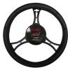 Jacky Auto Sport Kormányvédő TGK 39-41cm fekete műbőr Jacky Auto Sport