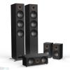 Jamo S 809 HCS 5.0 hangfalszett, fekete kőris