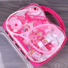 Játékos doktor készlet táskával, rózsaszín kreatív és készségfejlesztő