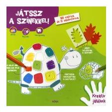 JÁTSSZ A SZÍNEKKEL! - 160 MATRICA ÉS 12 SABLONFORMA gyermek- és ifjúsági könyv