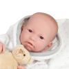 JC Toys Berenguer élethű fiú baba 43 cm macival JC Toys