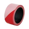 Jelzőszalag, 50 mm x 100 m, piros-fehér