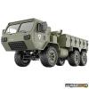 JJRC U.S. P801 HEMTT 6x6 távirányítós amerikai katonai szállító jármű 1:12