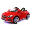 Joko Elektromos Kisautó Mercedes CLA-Világító Alváz, Kerék-Állítható Szervókormány-Piros