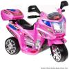 Joko Sport Gyermek Elektromos Kismotor 6V-Rózsaszín