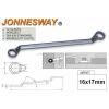 Jonnesway Profi Csillagkulcs 16x17mm