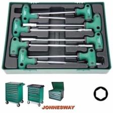 Jonnesway Tálcás marokkulcs készlet 6-13mm D725N08SP villáskulcs