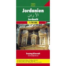 Jordánia autótérkép - f&b AK 157 térkép