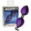 Joyballs Titkos labdák - lila/fekete