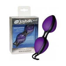 Joyballs Titkos labdák - lila/fekete izgatók, stimulálók