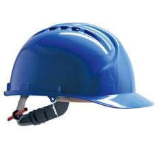 JSP MK7 sisak szellőzővel kék