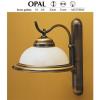 JUPITER OPÁL OK fali lámpa 1xE27/60W