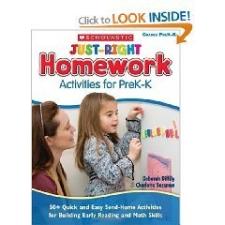 Just-Right Homework Activities for PreK-K nyelvkönyv, szótár