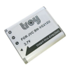 JVC GZ-V570-S 3.7V 1500mAh utángyártott Lithium-Ion kamera/fényképezőgép akku/akkumulátor