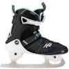 K2 Alexis Ice Boa FB Black/Teal - 40,5