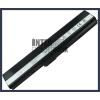 K52F-A1 4400 mAh 6 cella fekete notebook/laptop akku/akkumulátor utángyártott