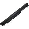 K56CA Series 2200 mAh 4 cella fekete notebook/laptop akku/akkumulátor utángyártott