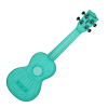 Kala Waterman Soprano Blue Raspberry Fluorescent