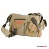 Kalahari Fotós táska KAPAKO K-31 vászon oldaltáska, válltáska khaki színben