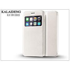 Kalaideng Apple iPhone 6 Plus flipes tok - Kalaideng Sun Series View Cover - white tok és táska