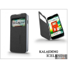 Kalaideng LG L90 D405 flipes tok - Kalaideng Iceland 2 Series View Cover - black