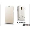 Kalaideng Samsung SM-G900 Galaxy S5 flipes tok - Kalaideng Swift Series - white