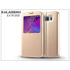 Kalaideng Samsung SM-N920 Galaxy Note 5 flipes tok - Kalaideng Sun Series View Cover - golden