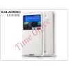Kalaideng Sony Xperia E4 (E2104/E2105) flipes tok - Kalaideng Sun Series View Cover - white
